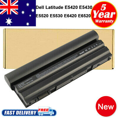 AU49.99 • Buy 9 Cell Battery For DELL Latitude E5420 E5520 E6420 E6430 E6520 T54FJ 312-1163