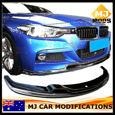 AU530 • Buy Carbon Fibre Front Bumper Lip For BMW【F30 F31 M SPORT】340i 335i 330i 328i 320【V】