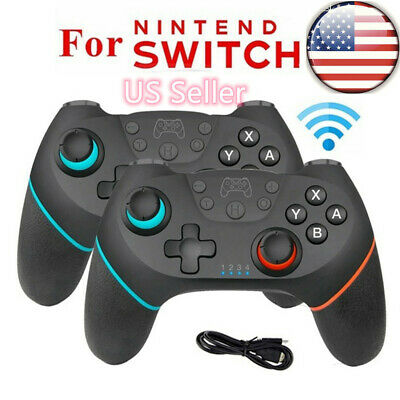 $19.99 • Buy For Nintendo Switch Pro Wireless Bluetooth Gamepad Joystick Game Controller HOT