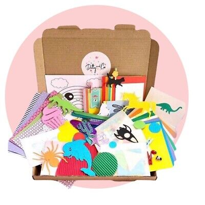 Children's Craft Sets*Craft Box*Activity*Craft*Card Making Kits*Boxes*Parties* • 9.99£