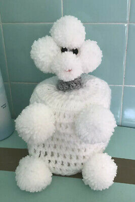 Handmade Poodle Toilet Roll Cover • 10£
