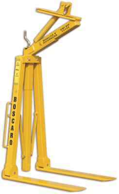 2 Tonne Adjustable Self Balancing Crane Forks Lifting Equipment 1 Year Warranty • 947.08£