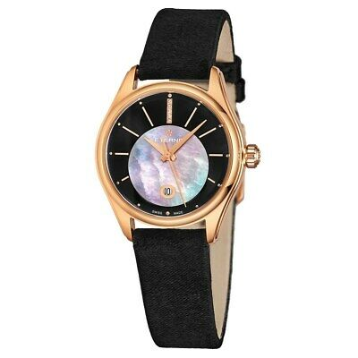 Eterna 2940-56-41-1357 Women's Avant-Garde Diamond Automatic Black Watch • 535.45£