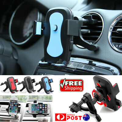 AU13.99 • Buy Air Vent Car Phone Holder Cradle Mount Stand ForSamsung Galaxy S9 10 Plus Note 8
