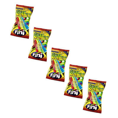 Fini Roller Fruit Flavoured Rainbow Belts Retro Sweets 5, 10, 20, 40 (full Box) • 4.06£