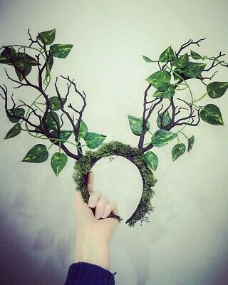 Woodland Fae Headdress - Ethereal Branches / Antlers / Pagan / Fairy... • 30£