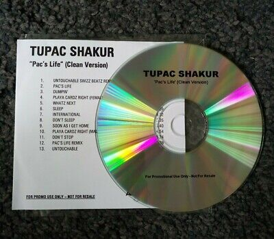 2Pac - Pac's Life (Promo Clean Version CD Album) 2006 • 7£