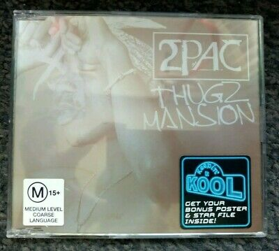 2Pac - Thugz Mansion Poster Version (CD Single) 2003 • 9.99£