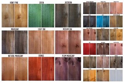 £2.95 • Buy Water Based Wood Stain / Wood Dye - Traditional Range Easy Use & Fast Drying