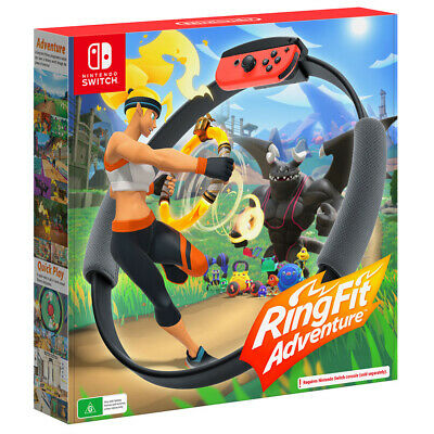 AU130.95 • Buy Ring Fit Adventure Switch Game NEW
