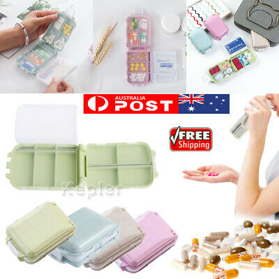 AU8.99 • Buy 7 Days Pill Box Boxes Container Storage Medicine Tablet Weekly Organiser Case AU