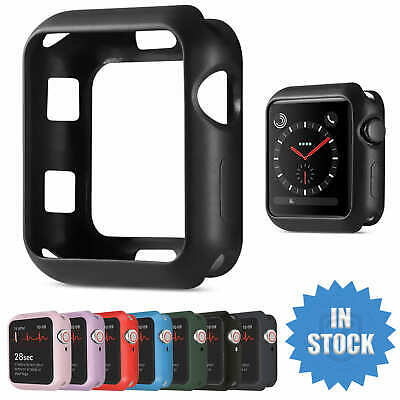 AU13.95 • Buy For Apple Watch IWatch Series SE 6 5 4 3 2 Matte Case Full Cover 38 40 42 44mm