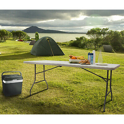 6ft Heavy Duty Folding Table Portable Plastic Camping Garden Party Catering New • 36.95£