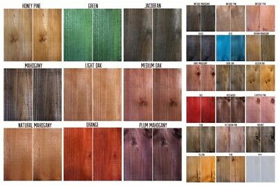 £4.95 • Buy Morrells Water Based Wood Stain/Wood Dye Solvent Free Low VOC 26 Colours