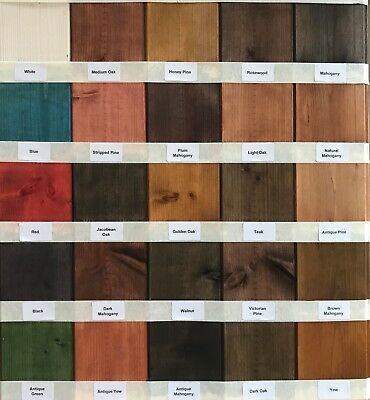 £4.95 • Buy Interior Solvent Free Wood Stain - Odour Free - Easy Use Wood Stain Dye