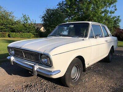 Mk2 Ford Cortina 2 Door 1300 Deluxe Column Change - Totally Solid Shell No Rust! • 5,995£