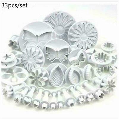 Plunger Cutters Cake Decorating Cookie Biscuit Fondant S Mold Baking Flower Q6L6 • 4.59£