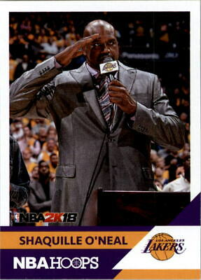 $ CDN2.64 • Buy 2017-18 Hoops Shaquille O'Neal NBA 2K #20 Shaquille O'Neal - NM-MT
