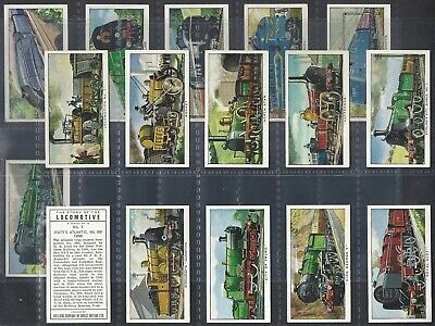 Kelloggs-full Set- The Story Of The Locomotive (1st Series 16 Cards) - Exc • 14.99£