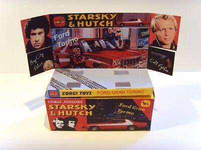 CORGI JUNIORS - STARSKY & HUTCH - Superb Display Box And Tray ONLY. Assembled • 7.99£