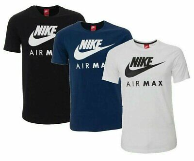 $18.95 • Buy Nike Men's Air Max T-Shirt Graphic Dry Fit Swoosh Logo Athletic Active Wear Gym