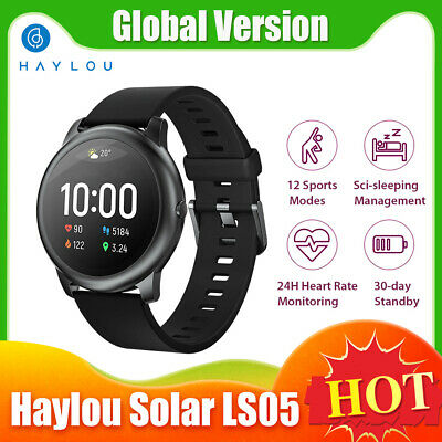 $ CDN5.37 • Buy Haylou Solar LS05 Smart Watch 1.28'' Fitness Bracelet Nano TPU Screen Films M4L0
