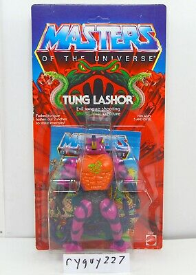 $450 • Buy MOTU, Tung Lashor, Masters Of The Universe, MOC, Carded, Figure, He Man, Sealed