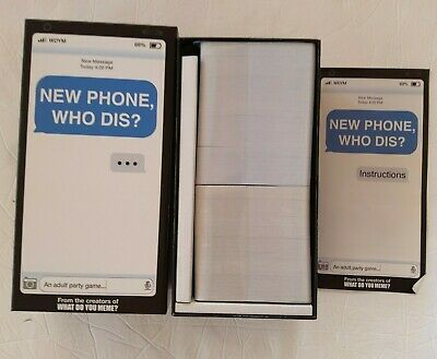 AU28.72 • Buy New Phone Who Dis? Adult Party Game By What Do You Meme?  New
