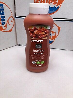 Buffalo Sauce 1lt  Chefs Larder | Burger, Chips, Wedges Chicken Wings Fish • 6.40£
