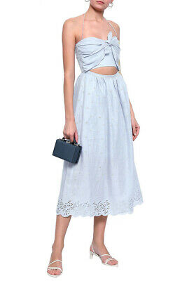 $41 • Buy ZIMMERMANN Cutout Broderie Anglaise Cotton Dress, $530 NEW, XS, Designer 0