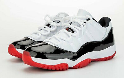 $255 • Buy Nike Air Jordan 11 Retro Xi Low  Concord Bred  Black/red Av2187-160 Size 4-15