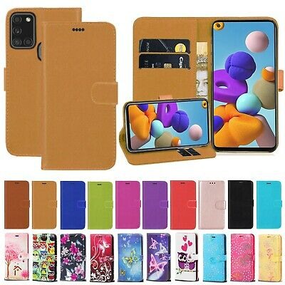 For Samsung Galaxy A21s A31 A21 A41 A20s PU Leather Flip Wallet Stand Case Cover • 3.99£