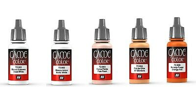 Vallejo Game Color Model Paints 17ml Full Range Of Fantasy Acrylic Washes & Inks • 3.36£