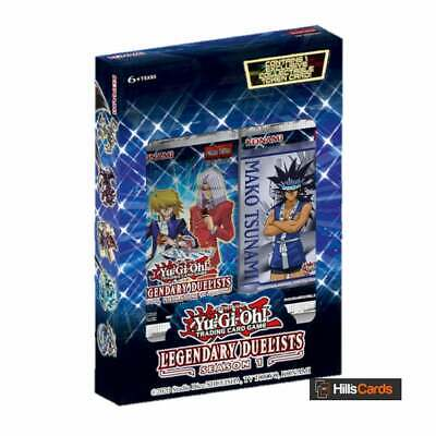 YuGiOh Legendary Duelists: Season 1 | Sealed Box Of 2 Packs | 18 Cards Per Pack • 13.75£