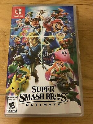 $47.49 • Buy Super Smash Bros. Ultimate (Nintendo Switch) EXCELLENT. Tested.