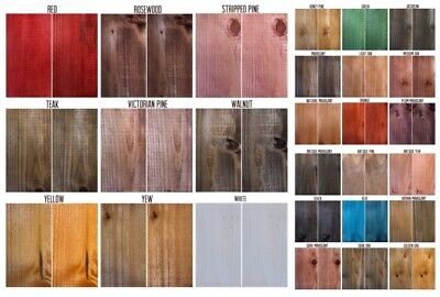 £2.95 • Buy Interior Solvent Free Wood Stain - No Odour  & Easy Use Wood Stain Dye Fast Dry