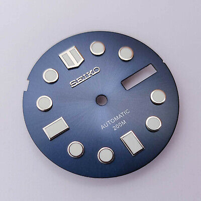 $ CDN62.53 • Buy MM300 Dial For Seiko SKX013, MARINEMASTER 300, Navy Blue, Fits NH36, C3Lume