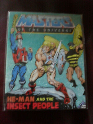 $5.75 • Buy Masters Of The Universe MOTU Mini Comic 1983 Taiwan He-Man And Insect People #3