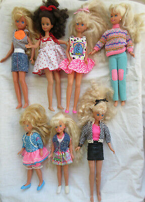 $ CDN15 • Buy Vintage Barbie Doll Sister And Friends - Skipper Stacie, Courtney - Lot Of 7