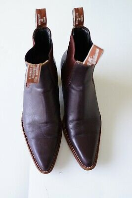AU315 • Buy Rm Williams 'millicent' Brown (chestnut) Boots…size 9.5…vgc...