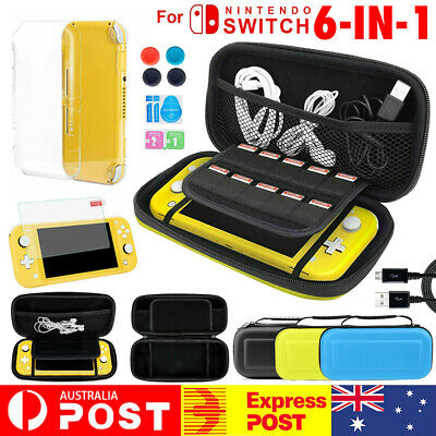 AU22.93 • Buy 6 IN 1 Carrying Case Bag+ Shell Cover+ Screen Protector For Nintendo Switch Lite