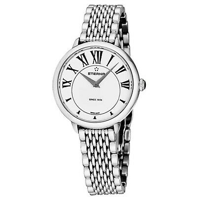 ETERNA 2800.41.62.1743 Women's Eternity White Quartz Watch • 121.75£