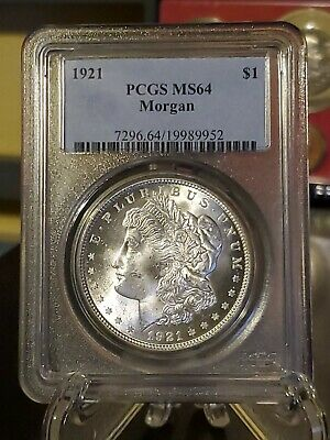 $36 • Buy 1921 Morgan Silver Dollar PCGS MS 64