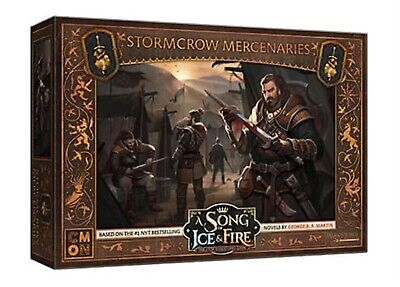 A Song Of Ice And Fire: Neutral Stormcrow Mercenaries Cool Mini Or Not Brand New • 26.09£