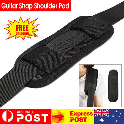 AU7.53 • Buy Guitar Strap Thickened For Acoustic Belt Shoulder Pad Bass Protective Anti Slip