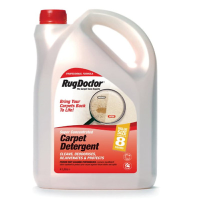 Rug Doctor Carpet Detergent Deodorises And Protects Shampoo Cleaner- 4 Litre • 27.99£