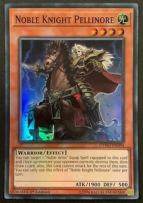 Noble Knight Pellinore | CYHO-EN090 | Super Rare | 1st Edition | YuGiOh • 0.99£
