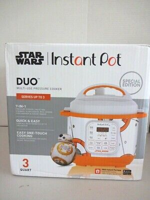 $130 • Buy  BRAND NEW  BB8 Special Edition Instant Pot 6 Quart Duo Pressure Cooker-NRFB