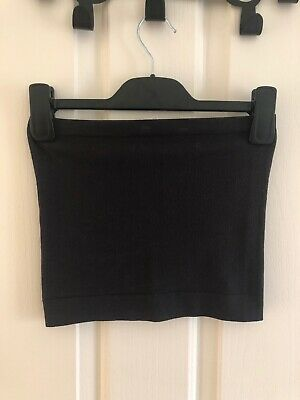 AU15 • Buy Out From Under Urban Outfitters Cropped Black Tube Top Xs/S