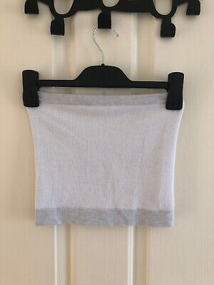 AU15 • Buy Out From Under Urban Outfitters White Cropped Tube Top Xs/S